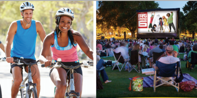 Family Fun Ride & Moonlight Movie in the Park Event