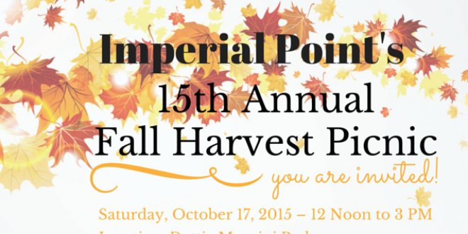 2015 Fall Harvest Picnic